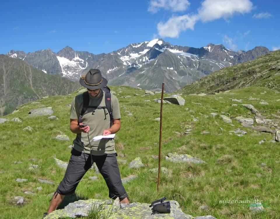 Geocaching am Stubaier Höhenweg